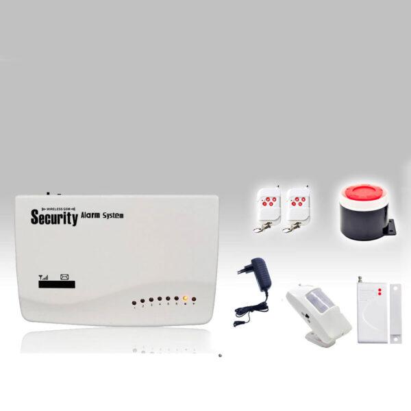 Sistema di allarme con combinatore GSM