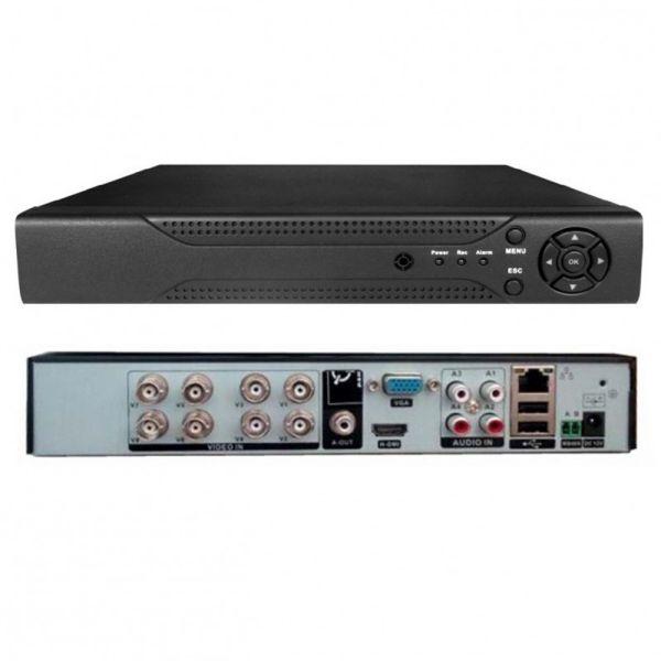 Kit Videosorveglianza Full Hd 1080p Sicurezza Cctv 8 Telecamere 8 Canali
